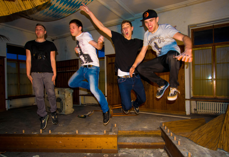 Shooting mit der Band 2014